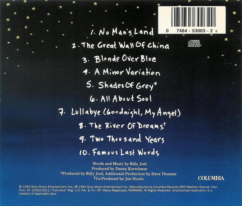 Billy Joel - River of Dreams - CD