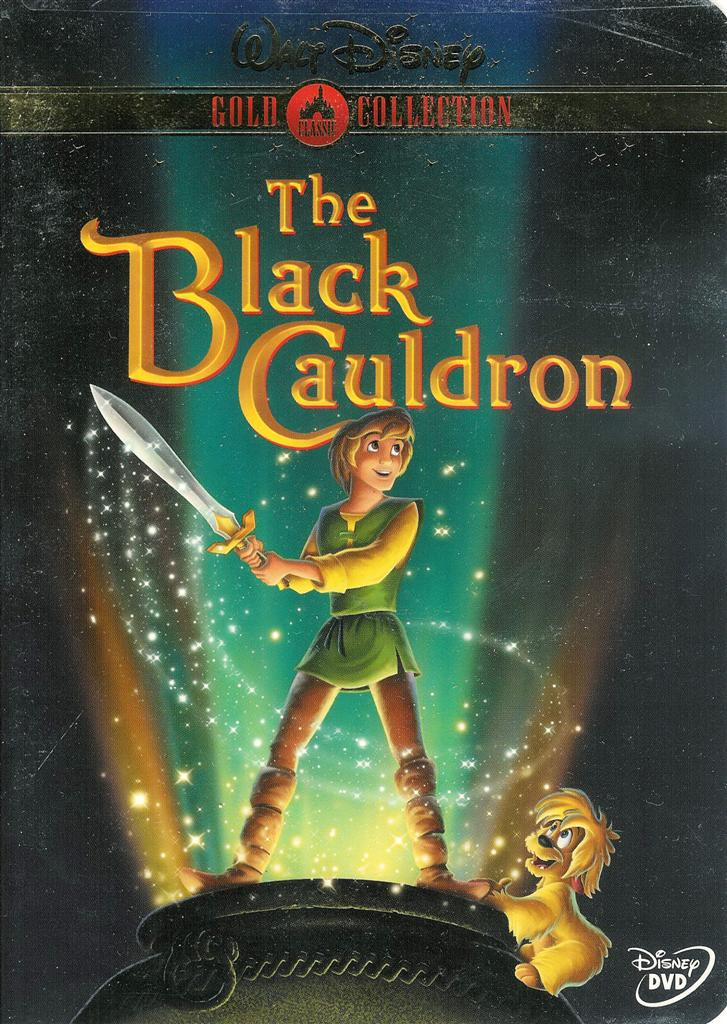 Walt Disney The Black Cauldron Gold Classic Collection New Sealed