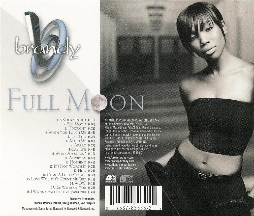 Full Moon  Brandy  Listen and discover music at Lastfm