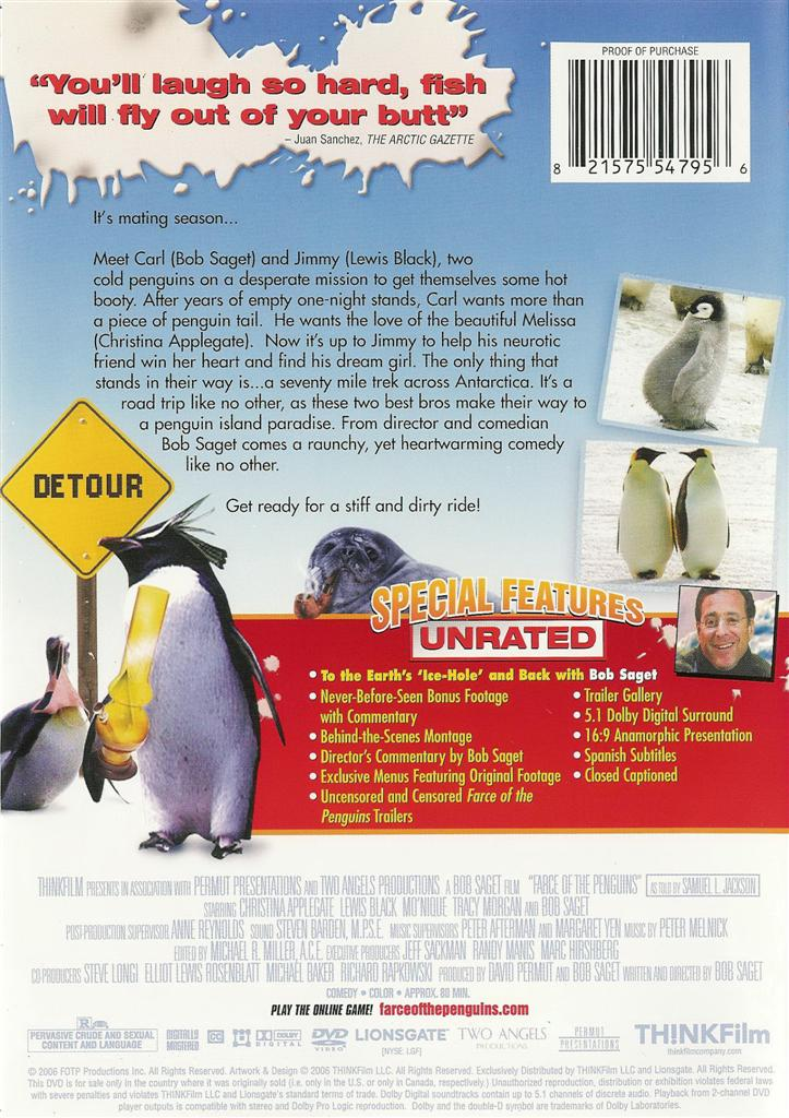 The farce of the penguins for Farce in english