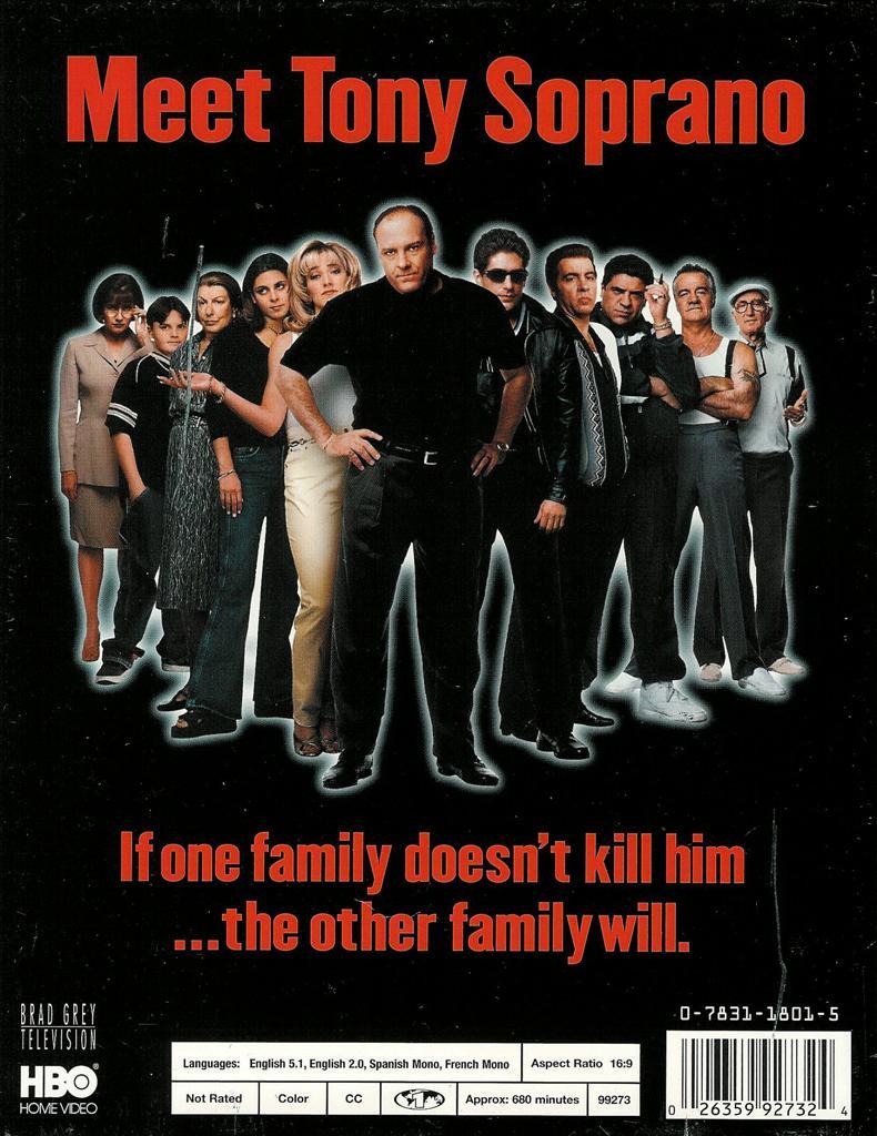 The sopranos hbo complete season 1 6