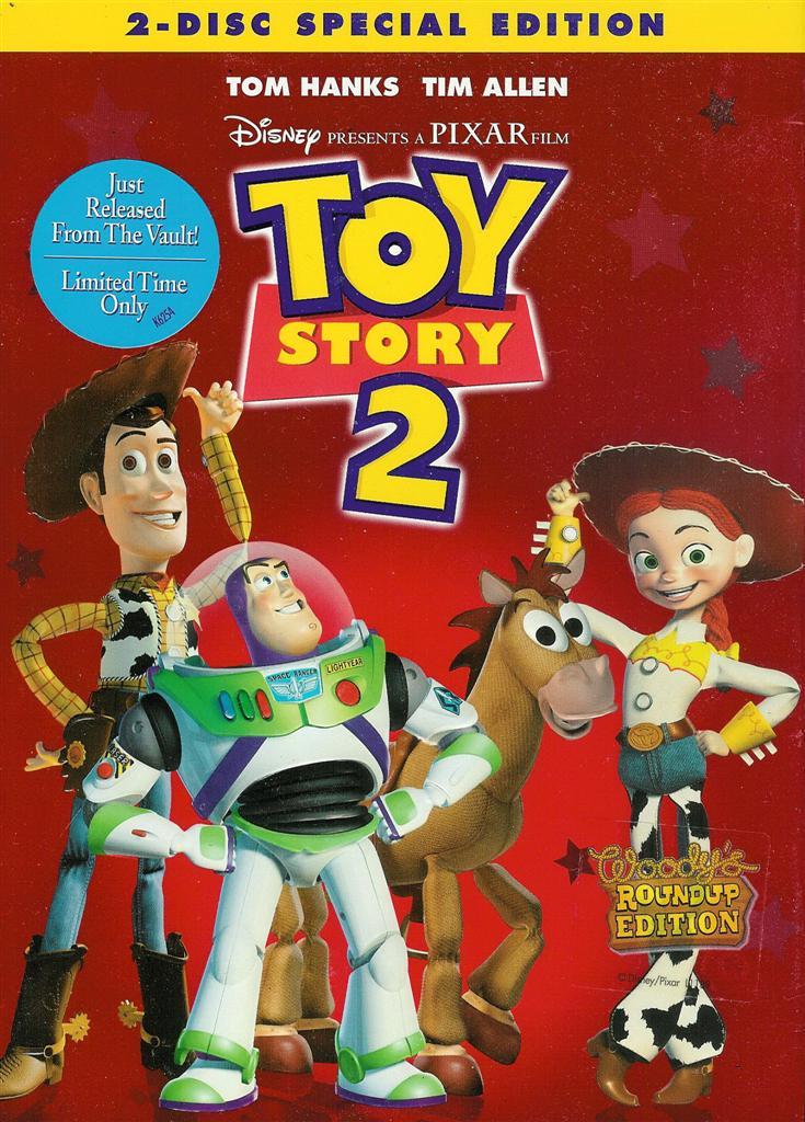 Disney Pixar Toy Story 2 Special Edition New SEALED 2 Disc DVD THX ...
