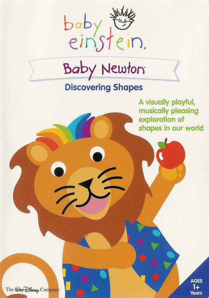 Baby Einstein Baby Newton Discovering Shapes Dvd Ebay