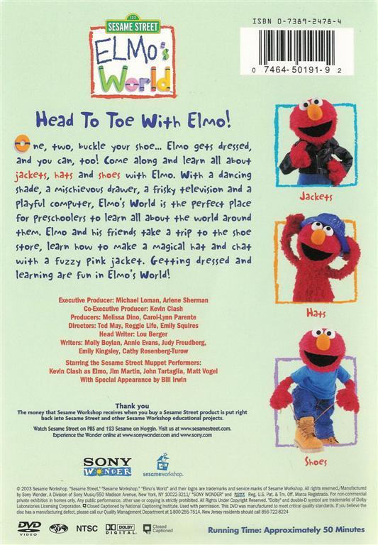 Elmo S World Shoes Quiz