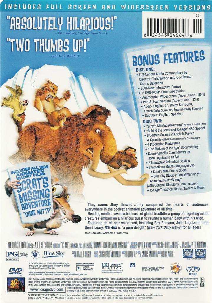 Ice Age 2002 Sid