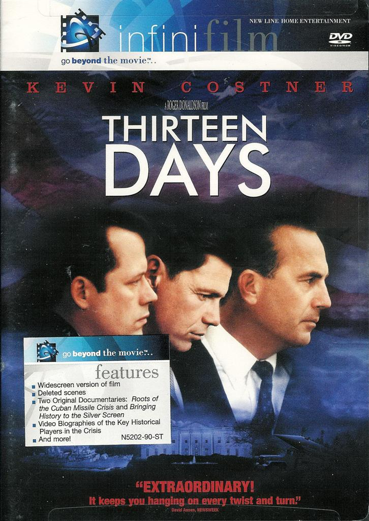 Thirteen Days - Kevin Costner - infinifilm New Sealed DVD (794043520228) | ...