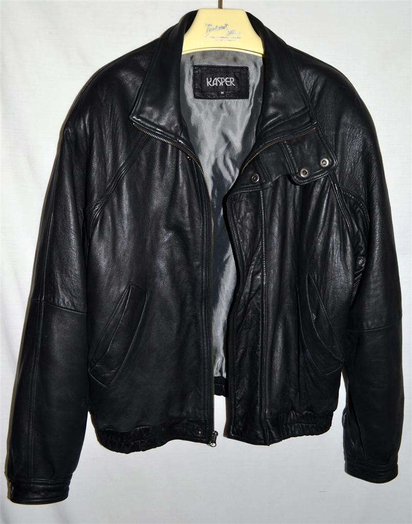 Kasper leather jacket