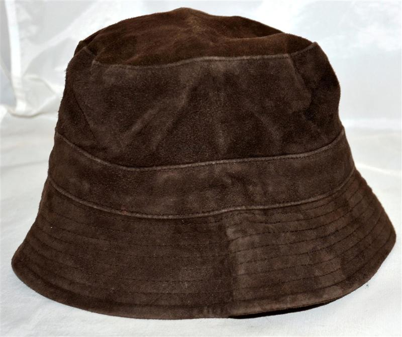 Suede Leather Floppy Pioneer Hat 39