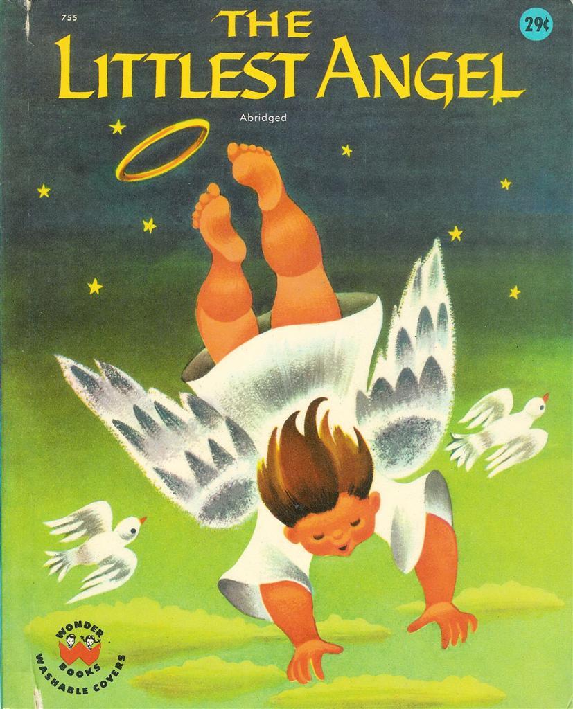 Details about the littlest angel wonder books 755 copyright 1960